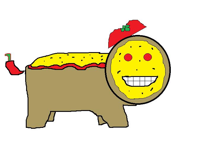 Pizza Creature