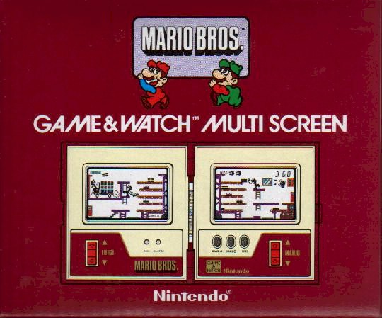 Mario Bros. Game and Watch