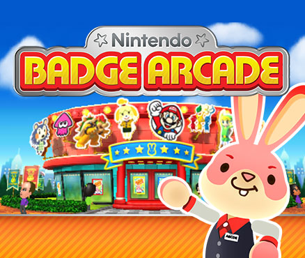 Nintendo Badge Arcade |